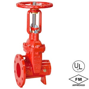 Flanged-Grooved-OSY-gate-valve