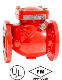 Flanged-Resilient-Swing-Check-Valve