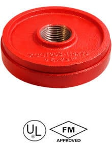Grooved-drain-cap-with-concentric-hole