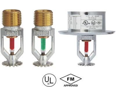 Pendent-sprinkler-Standard-response